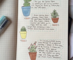 art, doodles, and journal image