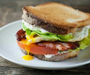 sandwich, food, and yummy image