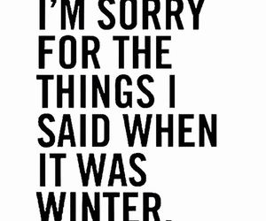 winter, funny, and text image