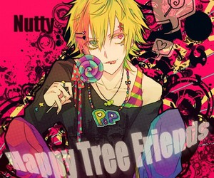 happy tree friends, anime, and nutty image