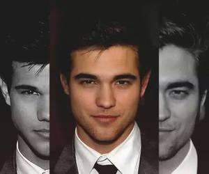 Taylor Lautner, robert pattinson, and twilight image