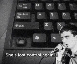 joy division, control, and funny image