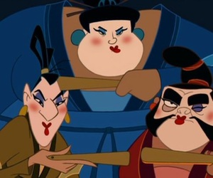 mulan, disney, and fun image
