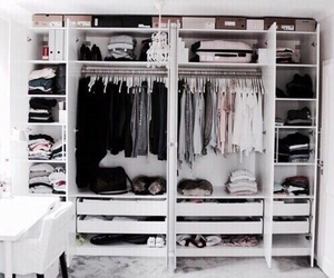 clothes, closet, and home image