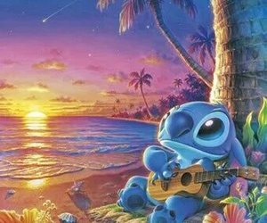 disney, stitch, and lilo and stitch image