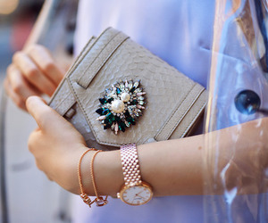 Braclets, accessories, and handbag image