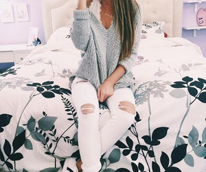 bed, fashion, and adidas image