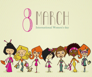 woman and 8march image