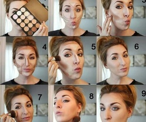 girl, tutorial, and beauty image