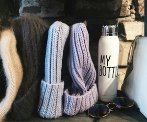 accessories, bottle, and hat image