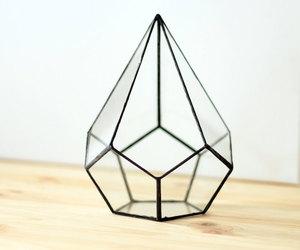 geometric, glass, and planters image