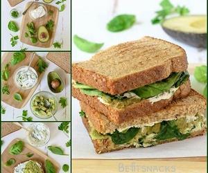 avocado, breakfast, and food image