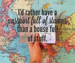 travel, world, and passport image