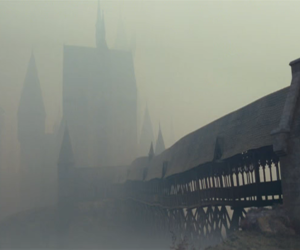 deathly hallows, grey, and harry potter image