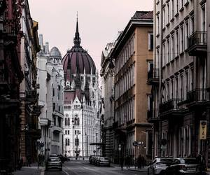 budapest, city, and parliament image