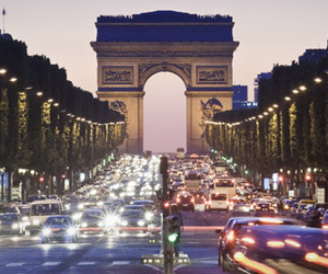 champs elysees, city, and paris image