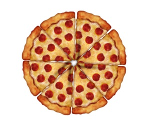 goal, life, and pizza image