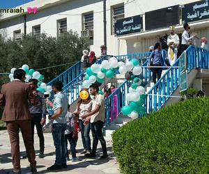 baghdad, blue, and college image