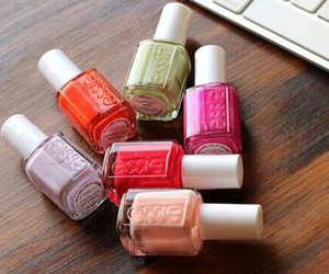 essie, nails, and polishes image