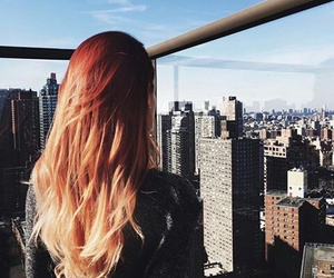hair and city image