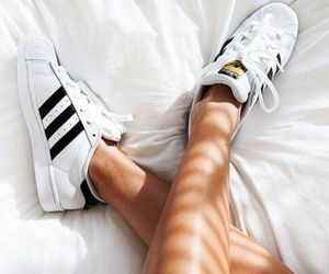 adidas, sneakers, and black and white image