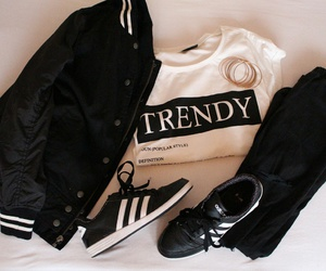 adidas, clothes, and jacket image