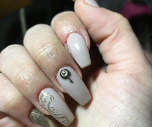 nails, unghie, and immagini image