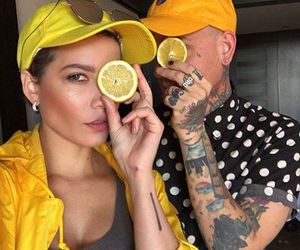 halsey and yellow image