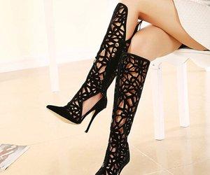 belleza, elegancia, and negro image