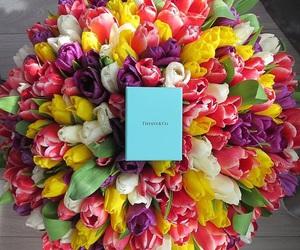 flowers, luxury, and tiffany image
