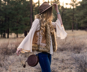 cowboy boots, fashion, and hair image