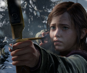 the last of us, ellie, and game image