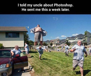 funny, photoshop, and lol image