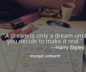 Dream, study, and school image