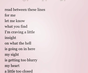 pink, blurred lines, and poem image