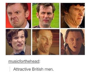 british, doctor who, and sherlock image