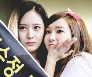 jessica, snsd, and krystal image