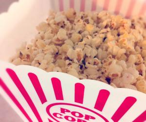 food, popcorn, and love image