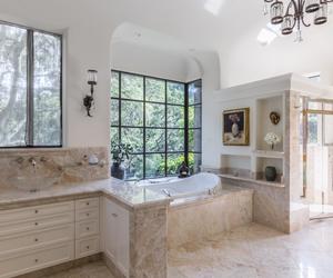 bath, california, and decor image