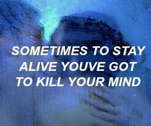 blue, migraine, and quote image