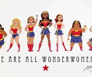 woman, wonderwomen, and girl power image