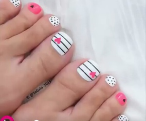 foot, pink, and cute image
