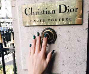 fashion, nails, and dior image