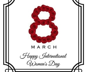 march and women's day image