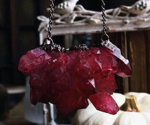 crystal and red image