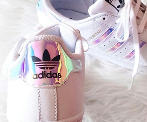 adidas, superstars, and shoes image