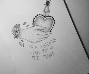 art, heart, and true friends image