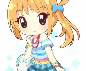 pretty rhythm, anime girl, and fukuhara ann image