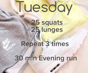 tuesday workout image