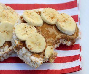 banana, snack, and yummy image